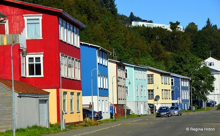 Akureyri the capital city of North-Iceland