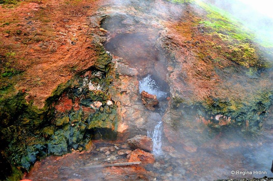 Deildartunguhver hot spring Borgarfjörður West Iceland
