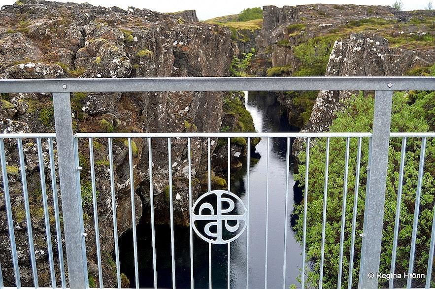 Nikulásargjá at Þingvellir national park