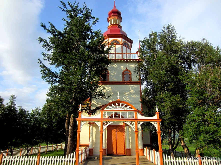 Grundarkirkja church, Eyjafjörður N-Iceland