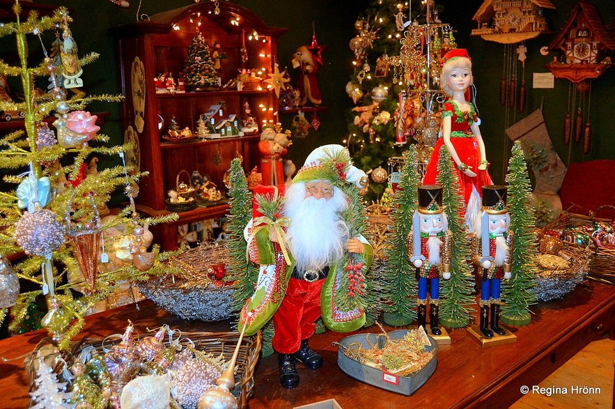 Inside the Christmas House in North Iceland