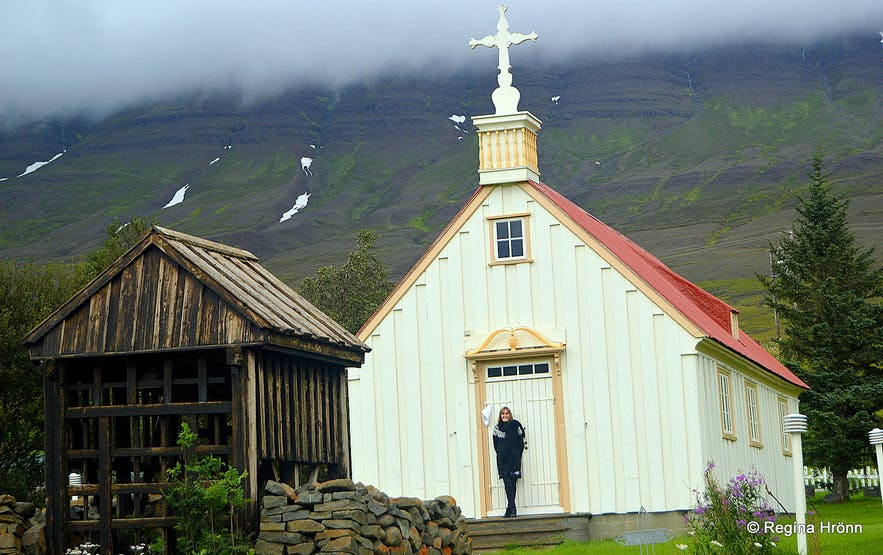 Eyjafjörður Fjord in North-Iceland - Historical Churches