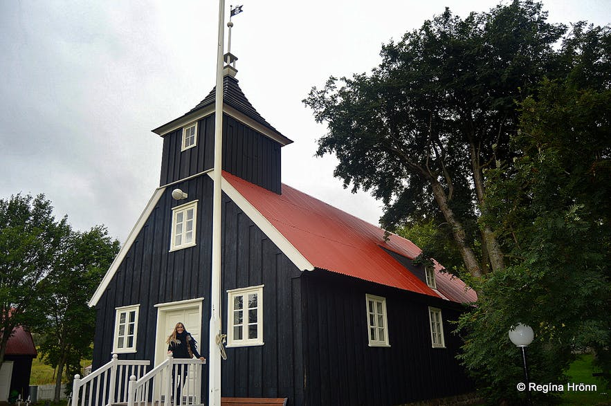 Eyjafjörður Fjord in North-Iceland - Historical Churches