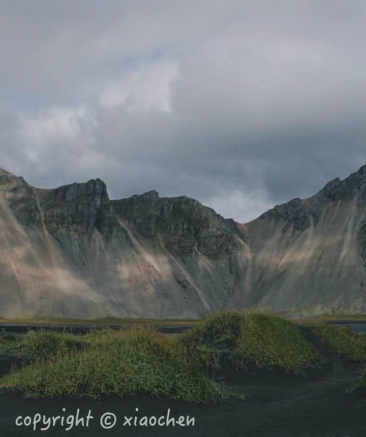 用全景模式照出的西角山照片