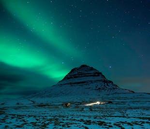 Northern Lights Kayaking | Mt. Kirkjufell & the Snaefellsnes Peninsula