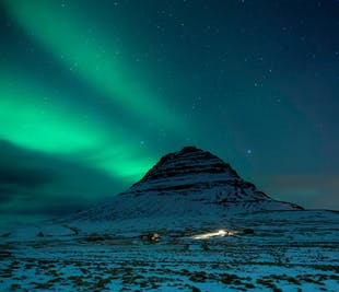 Northern Lights Kayaking | Mt. Kirkjufell & the Snaefellsnes Peninsula