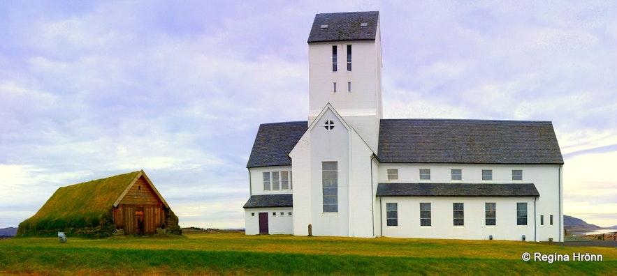 Skálholt Cathedral in Southwest Iceland