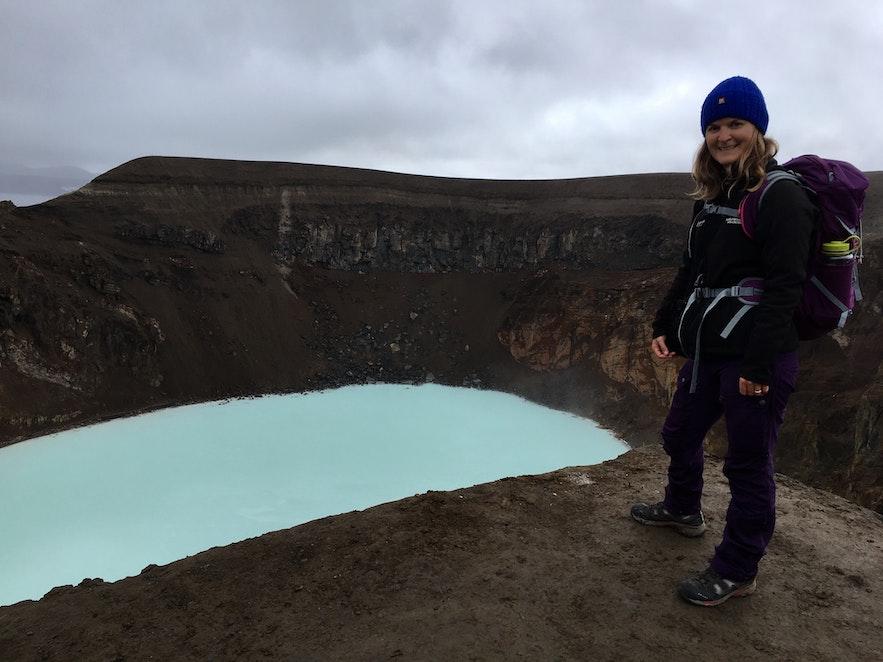 Askja en Islande