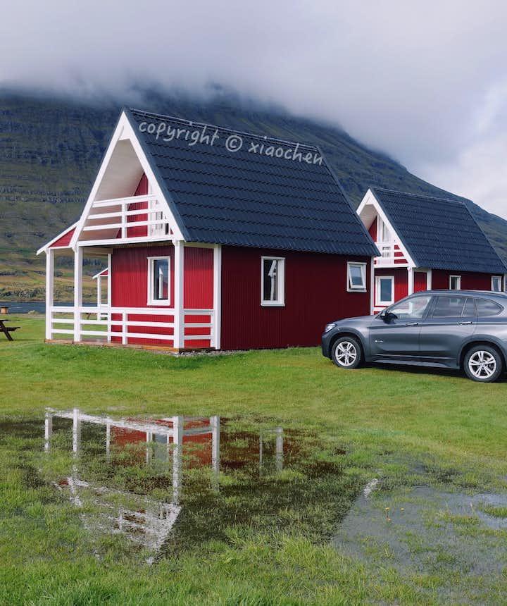 体验冰岛人的生活-住在民宿地点