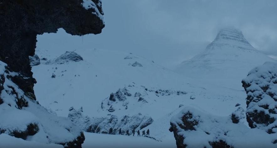 화살촉 모양을 한 산