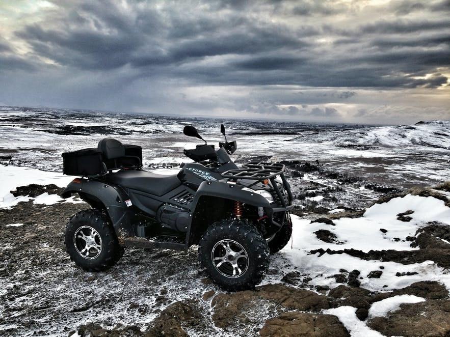 冰島冬季ATV