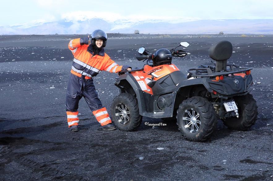 冰島山地電單車