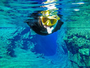 Snorkel between Continents in Silfra | Free Photos