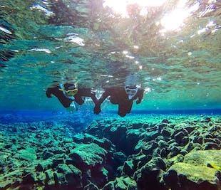 ゴールデンサークル観光とシュノーケリング体験(水中写真の特典付き)