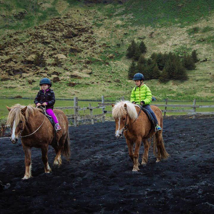 冰岛南岸黑沙滩骑马旅行团|适合全家亲子出游、适合自驾