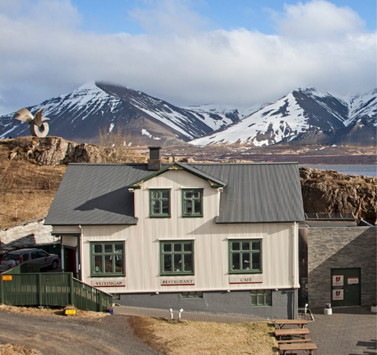 The Settlement Center is in the town of Borgarnes in West Iceland.