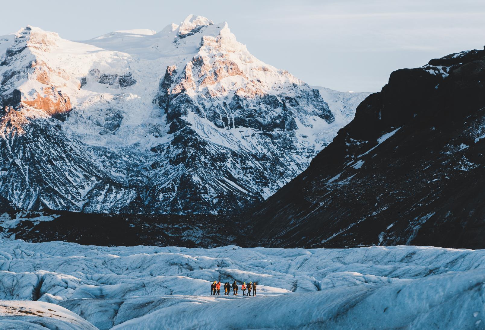 Tour de 2 días a la cueva de hielo azul y la costa sur | Glaciares, Jokulsarlon y Auroras Boreales