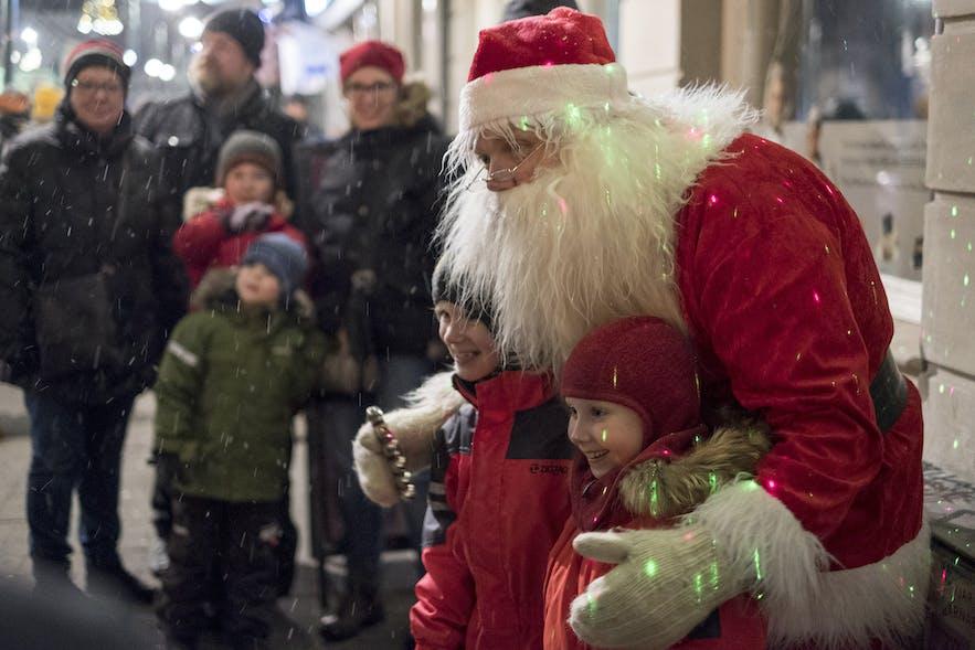 Þorláksmessa (letzter Tag vor dem Weihnachtsfest) in Reykjavik