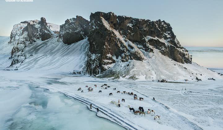 冬季来冰岛,可以看到千里冰封的极致美景