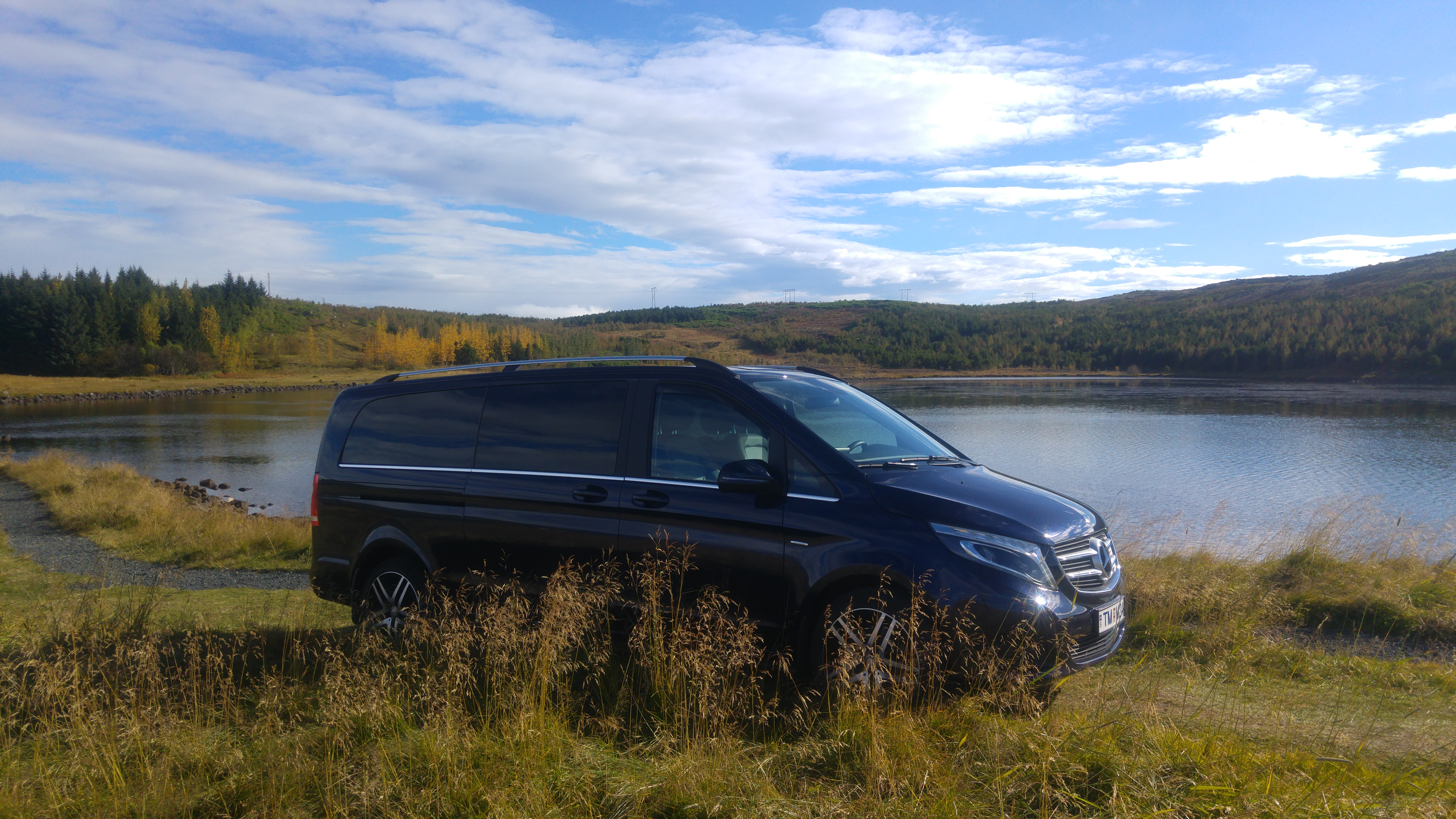 Customizable & Private 8 Hour Iceland Tour in a New Mercedes Benz V-Class Luxury Van