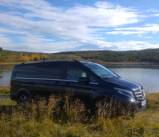 Eight Hours in Iceland | Customise Your Private Tour in a new Mercedes Benz V-class luxury