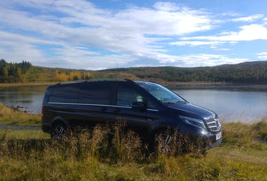 Golden Circle Private & Personalised Sightseeing private day Tour in a  luxury Mercedes Benz V-class