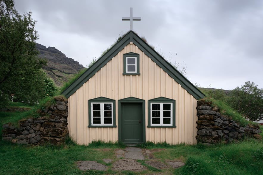 Quaint church in the countryside