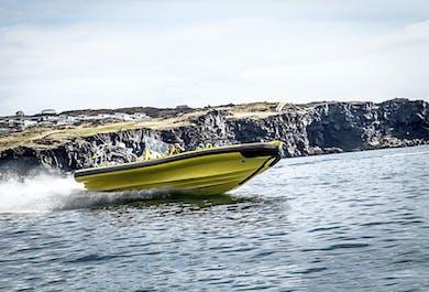 現地集合|ウェストマン諸島を観光する2時間のRIBボートツアー