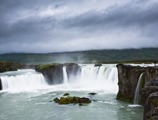 Diamond Circle Tour in North Iceland from Reykjavik with Flight