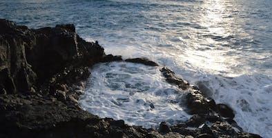 Brimketill lava rock pool