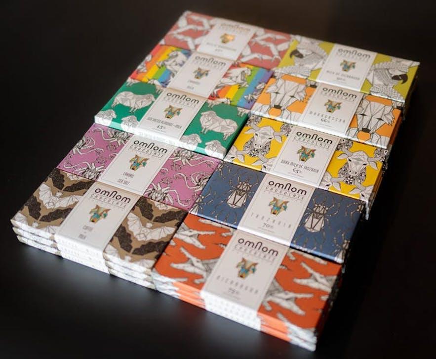 冰島Omnom 巧克力