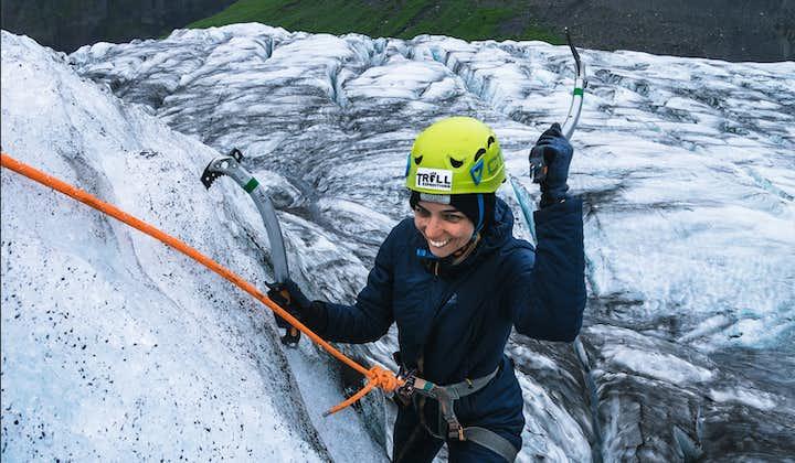 Ice climbing is a classic Icelandic adventure.