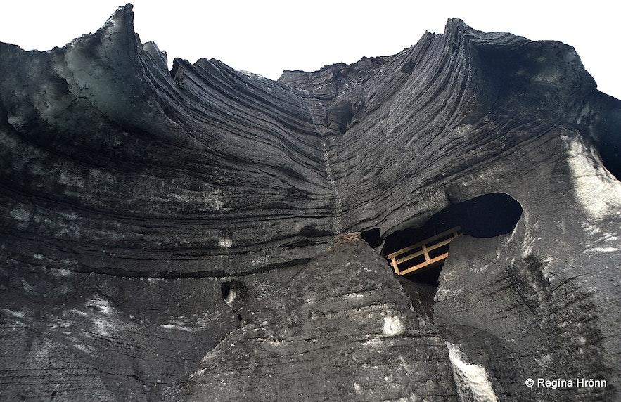 The Katla ice cave
