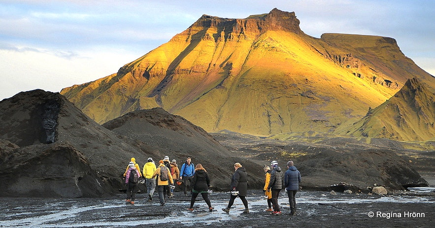 Mt. Hafursey by the Katla ice cave South-Iceland