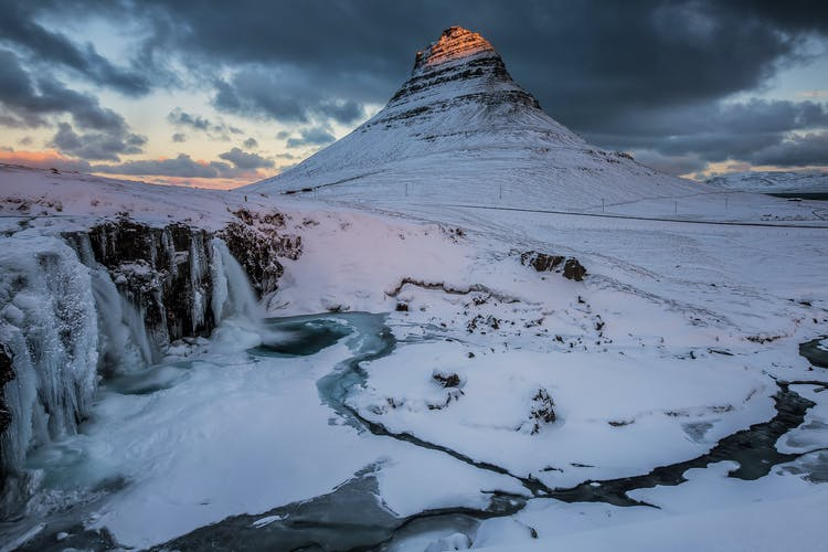Kirkjufell is known to be Iceland's most photographed mountain.