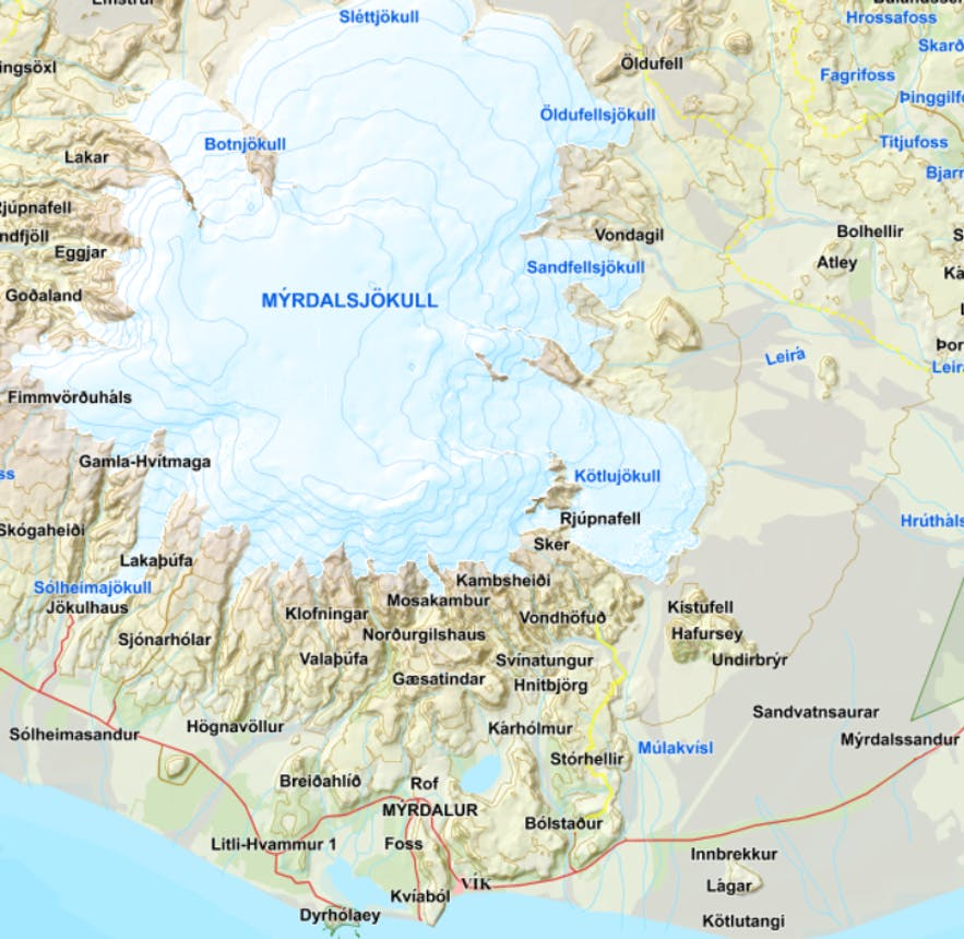 The spectacular Katla Ice Cave in South-Iceland is open all Year round