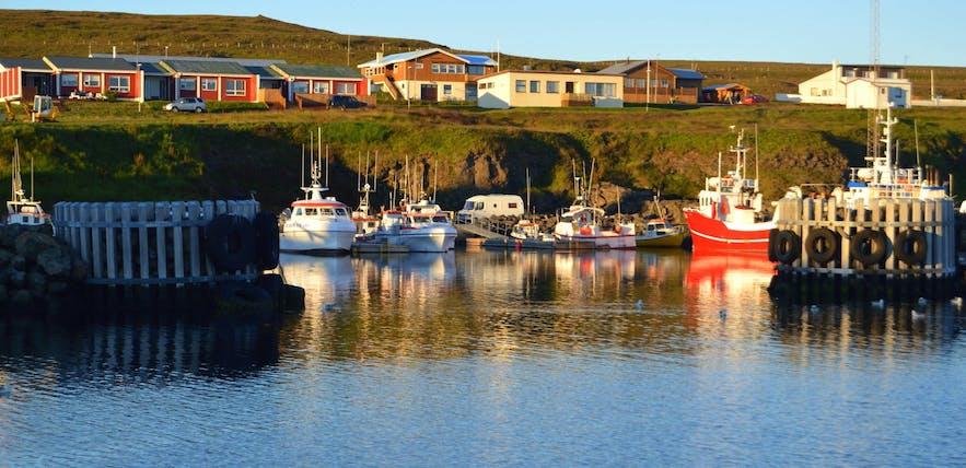 冰岛北极圈内的格里姆塞岛,图片来自冰岛旅行网的本地人Regina