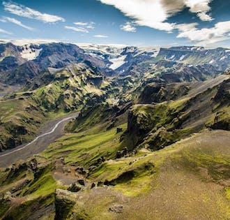 Private Jeep Tour | Summer Thorsmork & Eyjafjallajokull Volcano Adventure