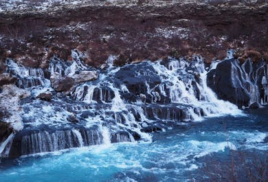 Private Jeep Tour   Hvalfjordur – hot springs and waterfalls, Krauma hot relax