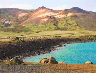 Private Jeep Tour | Reykjanes Peninsula + Blue Lagoon + Lava Tunnel + the Northern Lights