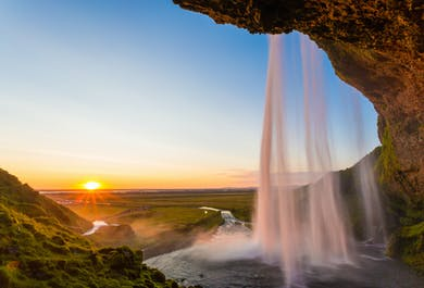 Private Jeep Tour | Golden Circle and South Coast in One Day With Bath at Secret Lagoon