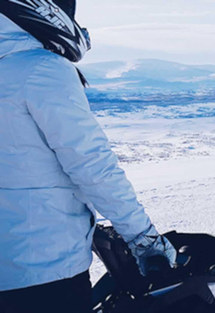 雪地摩托旅行团