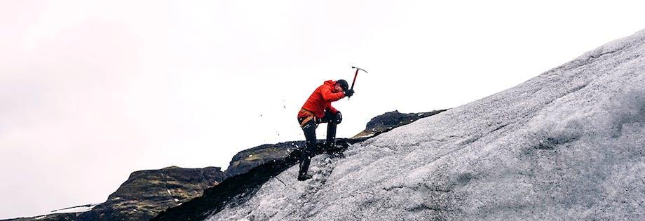 Excursions Escalade sur glacier
