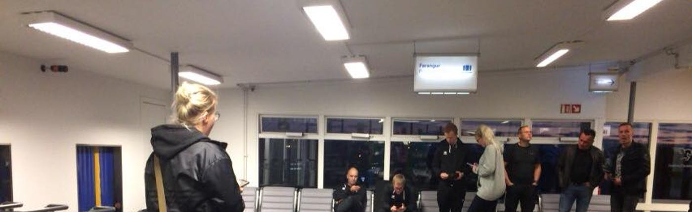 レイキャビク国内空港のバゲッジクレーム