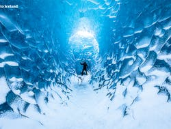 Sapphire Blue Ice Cave | Small Group Tour from Jokulsarlon Glacier Lagoon