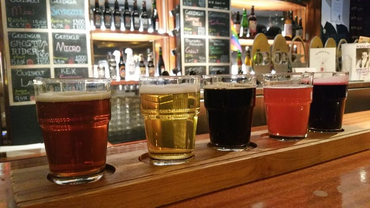 Why not check out a beer tour during your time in Reykjavík?