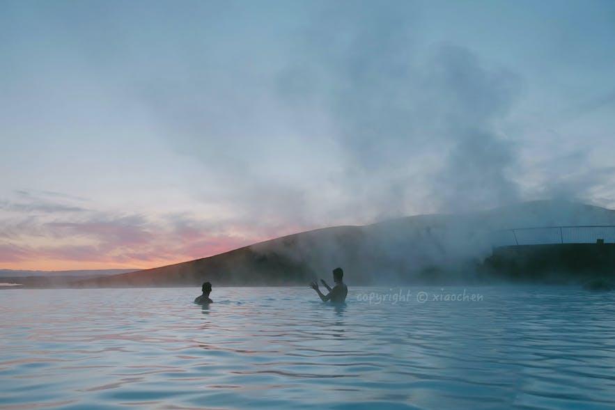 冰岛米湖温泉