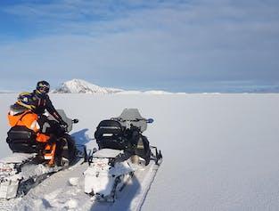 ミーヴァトン集合 冬限定のスノーモービル体験