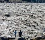 Be careful not to get too close to the river Jökulsá as the stream that feeds Dettifoss Waterfall is extremely powerful.