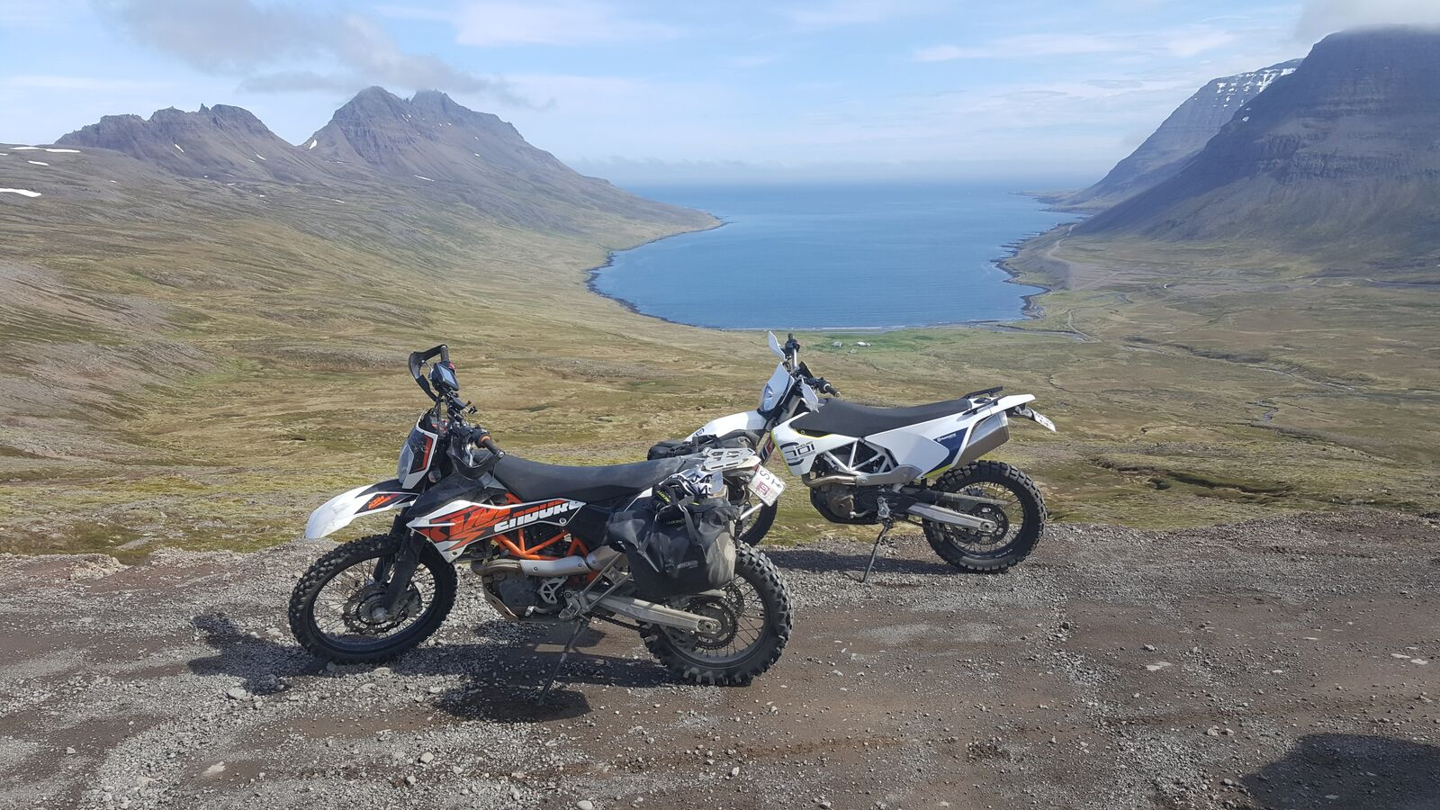 The Westfjords are glorious in summer. Grab a bike and go.